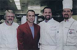 Harry Crane, Howard Tullman, Michael Maddox and Massimo Bosco